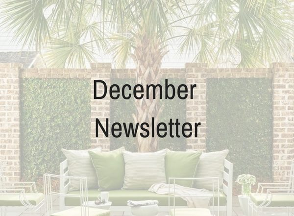 December newsletter for Trade Source Agencies, home design wholesale in Victoria bC.